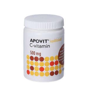 Apovit C-vitamin tabletter 500 mg (100 stk)