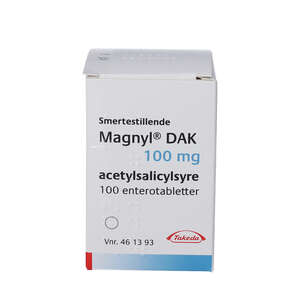 "Magnyl  Entero ""DAK"" 100 mg 100 stk"