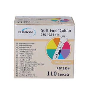 Klinion Soft Lancetter 28G