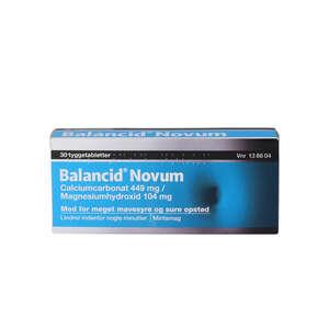 Balancid Novum 30 stk