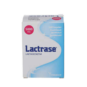 Lactrase Kapsler (100 stk.)