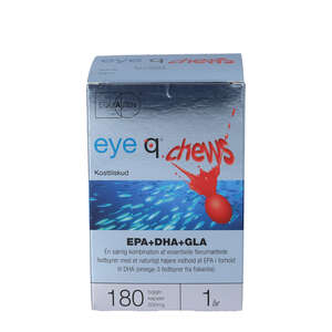 Eye Q Chews Kapsler (180 stk)