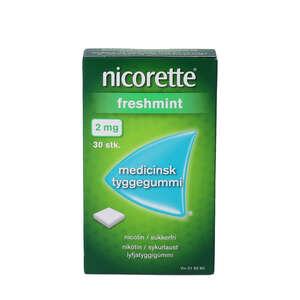 Nicorette Freshmint 2 mg 30 stk