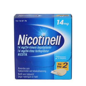 Nicotinell 14 mg/24 timer 21 stk