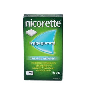 Nicorette Whitemint 2 mg 30 stk