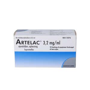 Artelac øjendråber 60 * 0,5 ml