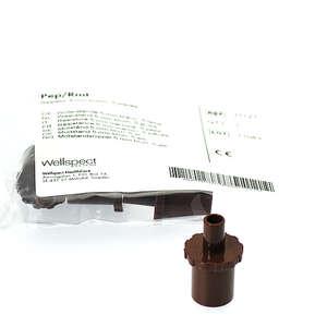 PEP modstande (brune - 5,0 mm)