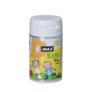D-Max Kids Tyggetabletter