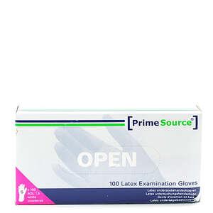 PrimeSource Latex Handsker m/pudder (S)