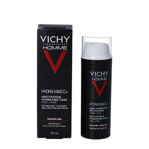 Vichy Homme Hydra Mag C+ Ansigts- og øjencreme 50 ml