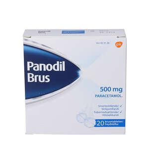 Panodil Brus 500 mg 20 stk