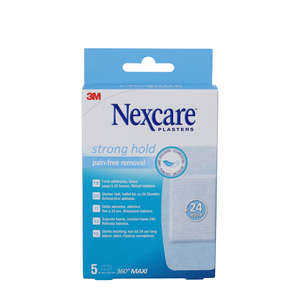 Nexcare Strong Hold Plasters (50x101mm)