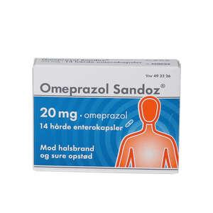 """Omeprazol """"Sandoz"""" 20 mg 14 stk"""