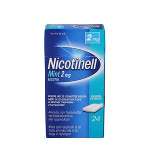 Nicotinell Mint 2 mg 24 stk