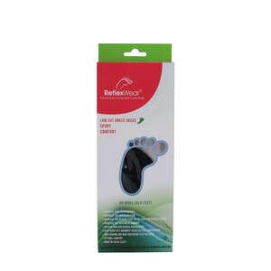 Reflexwear Terapeutisk Ankelstrømpe (S/Sort)