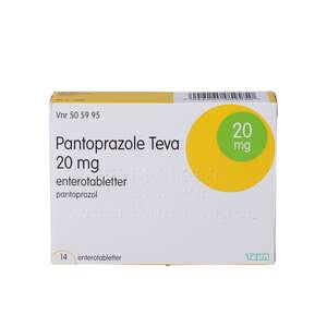 """Pantoprazole """"Teva"""" 20 mg 14 stk"""