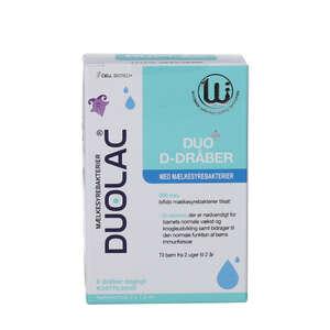 Duolac Duo+ D-dråber (2 x 7,5 ml)