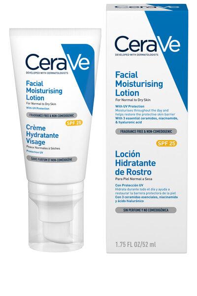 CeraVe Fugtgivende Ansigtscreme (SPF25)