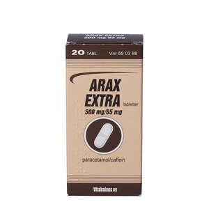 Arax Extra 500 mg+65 mg