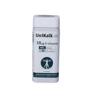 Unikalk 38 µg Vitamin (180 stk.)