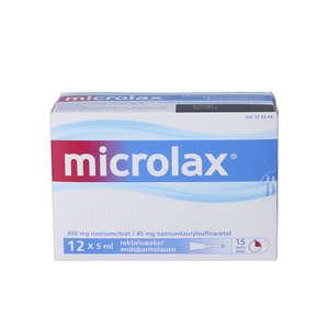 Microlax 12 * 5 ml