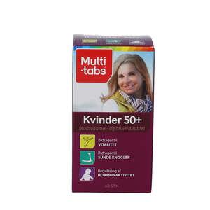 Multi-tabs Kvinder 50+ tabletter