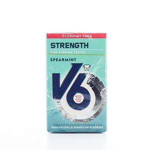 V6 strong spearmint med fluor