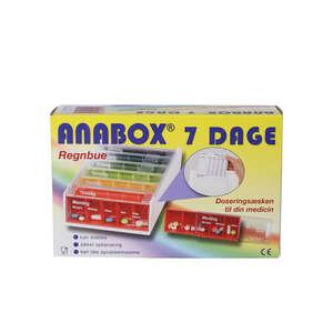 Anabox Doseringsæsker (7 dage)