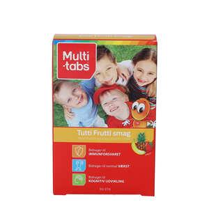 Multi-tabs tyggetabletter (tutti-frutti)