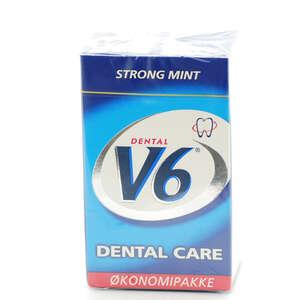 V6 Tyggegummi (Strong Mint)