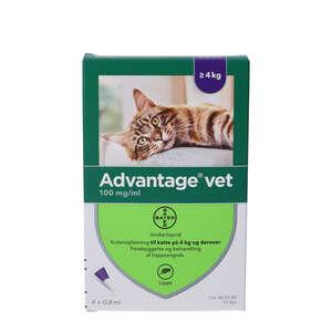 Advantage Vet. Opløsning (kat >4 kg)