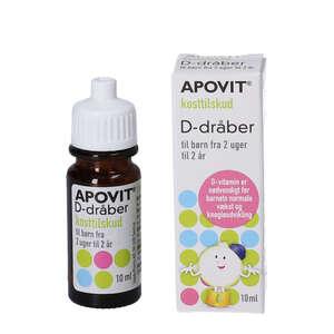 Apovit D-Dråber (10 ml)