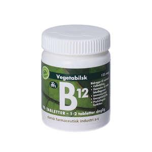 B12-vitamin tabletter (125 mikg)