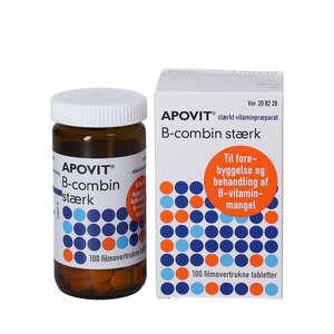 Apovit B-combin stærk tabletter (100 stk)