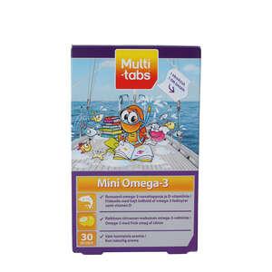 Multi-tabs Mini Omega-3 Geléstykker