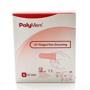 PolyMem Finger/Tå Skumbandage (S-1)