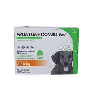 Frontline Combo Vet. (hund 2-10 kg) 3 stk