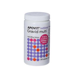 Apovit Gravid multi (200 stk)